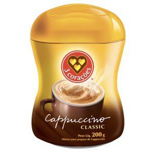 Café 3 Corações Capuccino 200g