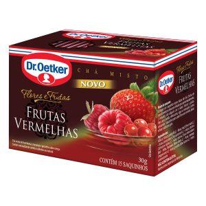 Chá Dr. Oetker Frutas Vermelhas 30g