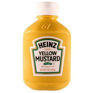 Mostarda Heinz 170g