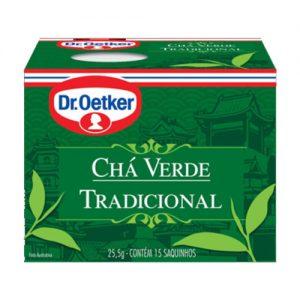 Chá Verde Dr. Oetker