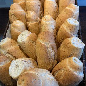 Pão cacetinho de Fibras. (Pão Francês de Fibras)