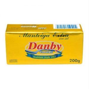 Manteiga Danby s/ Sal 200g