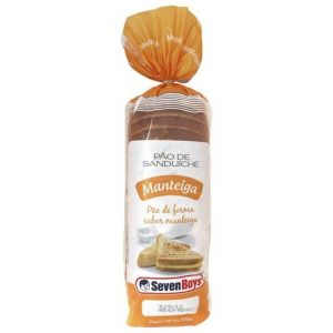 Pão de Manteiga Sevenboys 500g