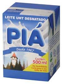 Leite Pia Desnatado 1/2L