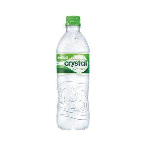 Água Crystal c/ Gás 500ml