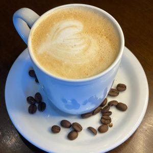 Café com Leite na Caneca