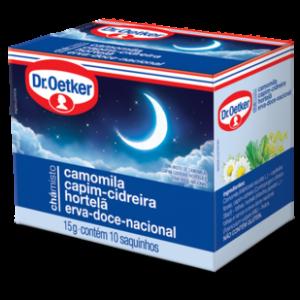 Xicara Cha Camomila,Capim-Cidreira,Hortelã e Erva-Doce-Nacional.