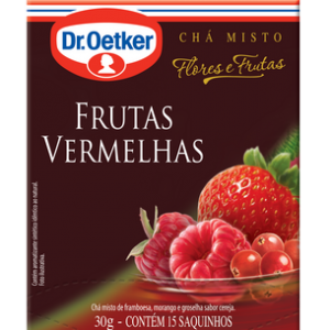 Xícara Chá Frutas Vermelhas.