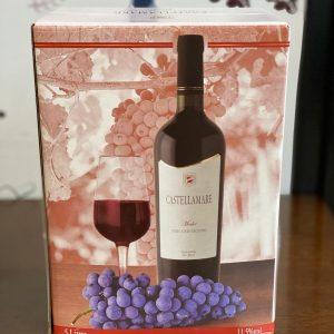 Vinho Castellamare Merlot 5L