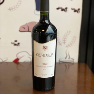 Vinho Castellamare Merlot Safra 2018