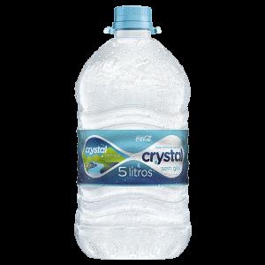 Água Mineral Cristal 5 litros.