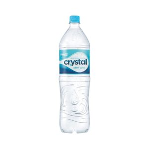 Água mineral Cristal Sem Gas 1,5 litros.
