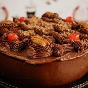 Torta Dolce de Noci con Latte Condensado