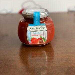 Geleia de morango diet Bom Princípio.