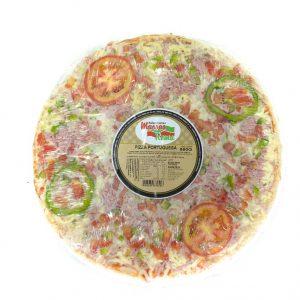 Pizza portuguesa 500g massas Roma