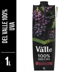 Suco de uva del valle 100% 1L
