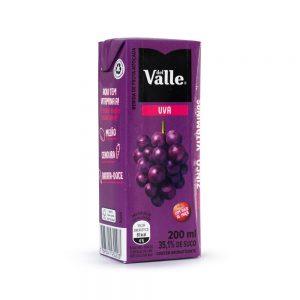 Suco de uva del valle 200ml