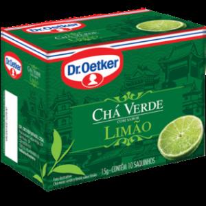 Xicara Cha Verde com Limão.