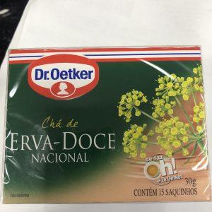 Chá de Erva Doce Dr. Oetker 30g