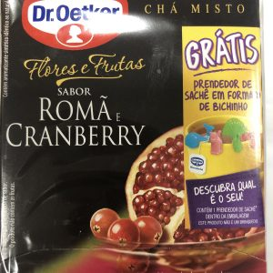 Chá Dr. Oetker Romã Cranberry 30g